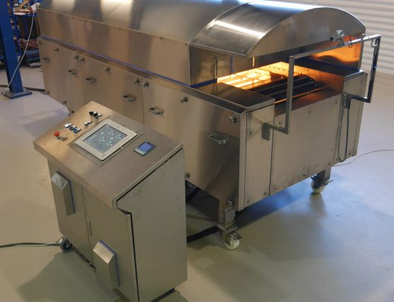 Electrical Infrared Tunnel Oven