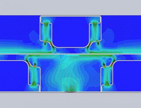 Simulation AIR flow 3D